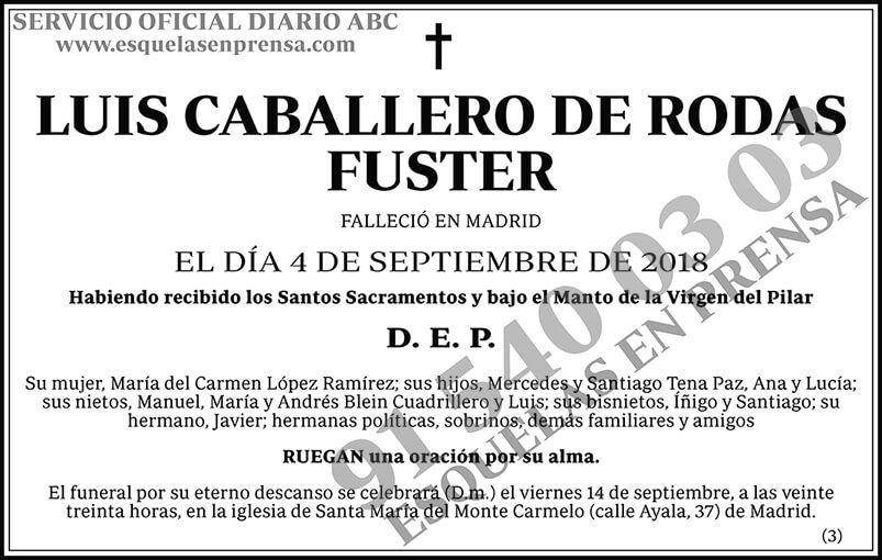 Luis Caballero de Rodas Fuster
